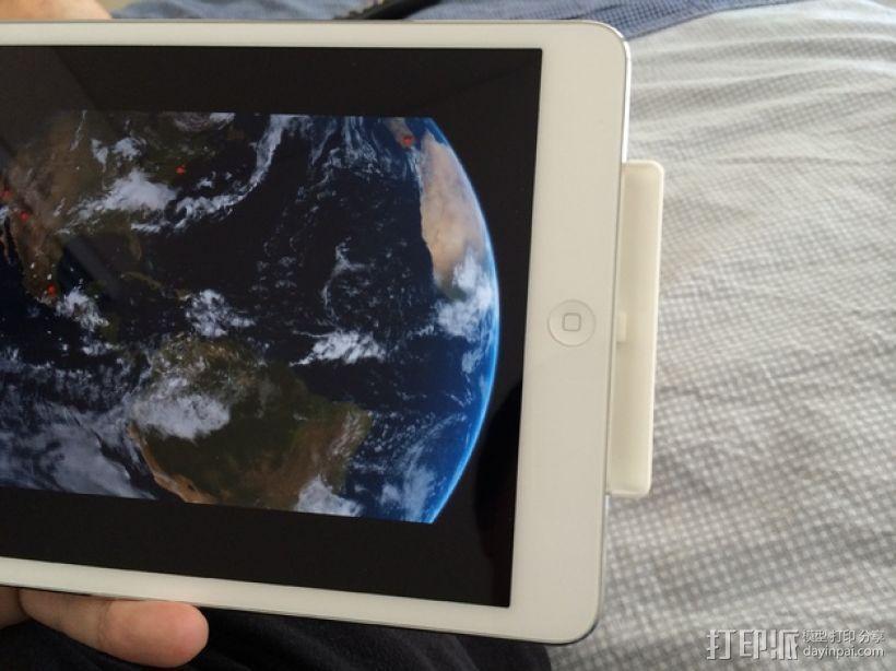 iPad mini 平板电脑扩音装置 3D模型  图1