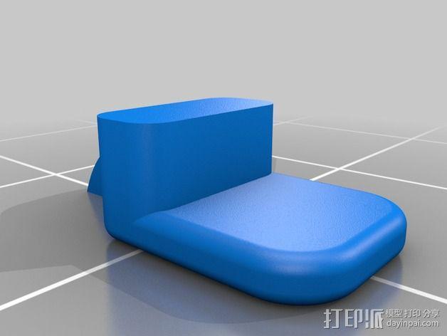iPad mini 平板电脑扩音装置 3D模型  图6