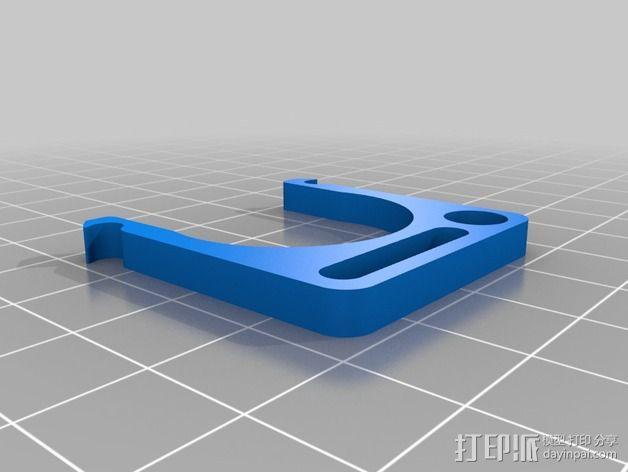 水瓶架 3D模型  图2