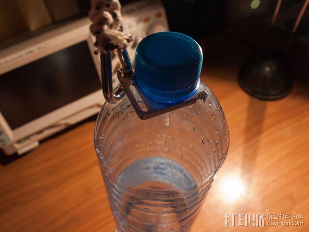 水瓶架 3D模型  图1