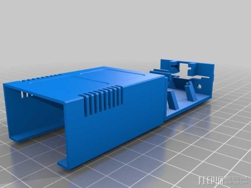 硬盘收纳盒 3D模型  图2