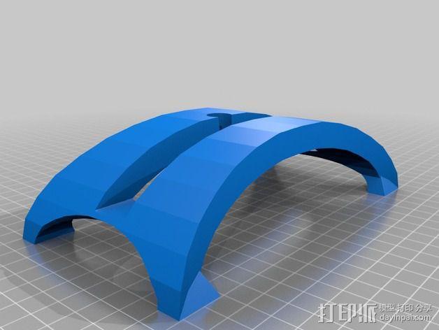 苹果Macbook Air笔记本电脑支架 3D模型  图2