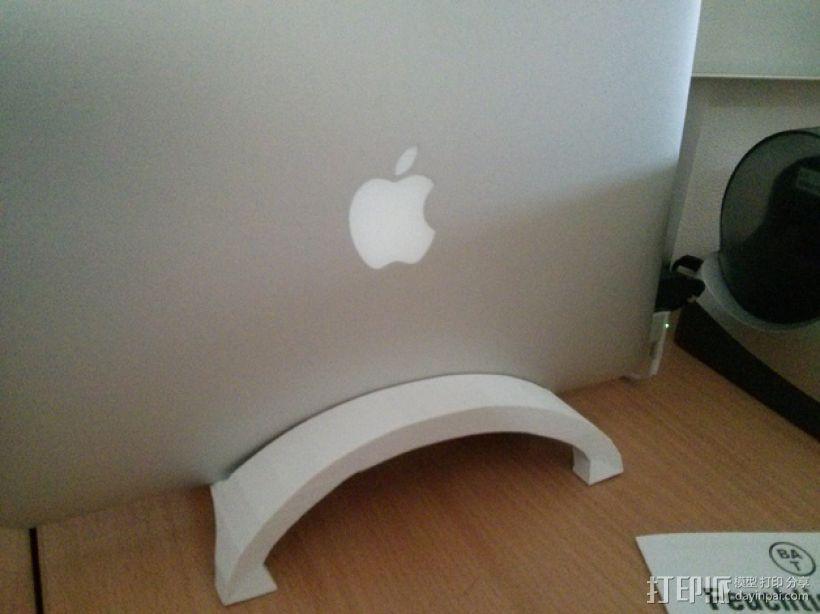 苹果Macbook Air笔记本电脑支架 3D模型  图1