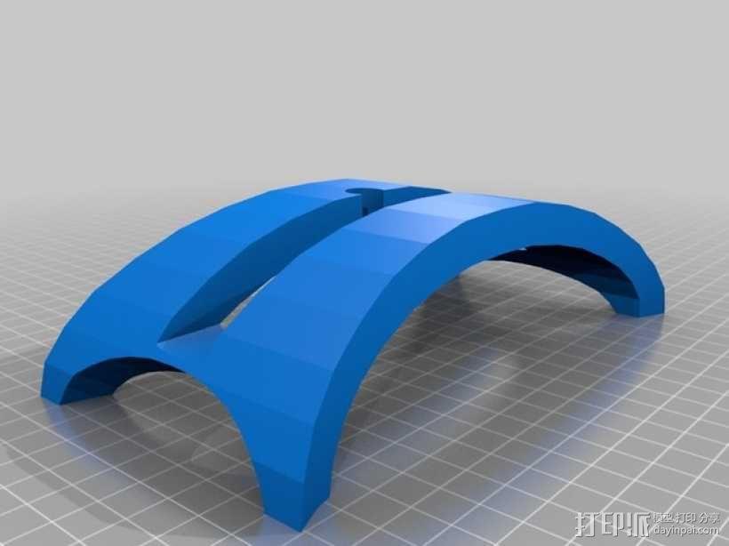 苹果Macbook Air笔记本电脑支架 3D模型  图4