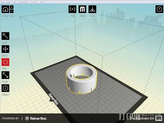 将能相机镜头罩 3D模型  图11