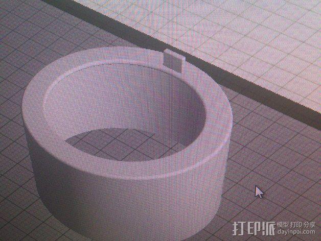 将能相机镜头罩 3D模型  图14