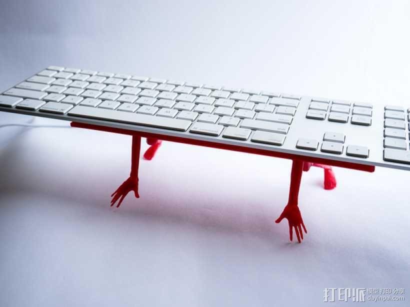 键盘架 3D模型  图1
