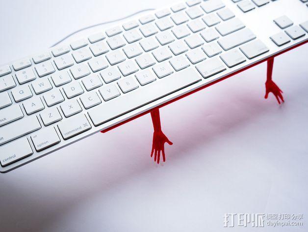 键盘架 3D模型  图5