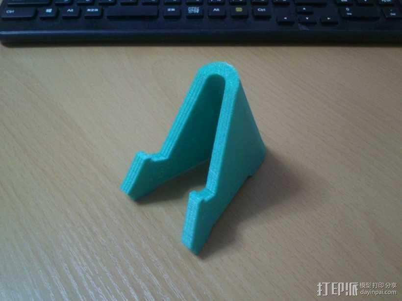 智能手机站架 3D模型  图3