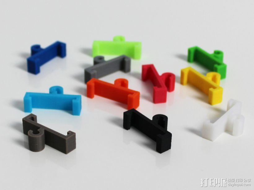 Zortrax线材管座 3D模型  图1
