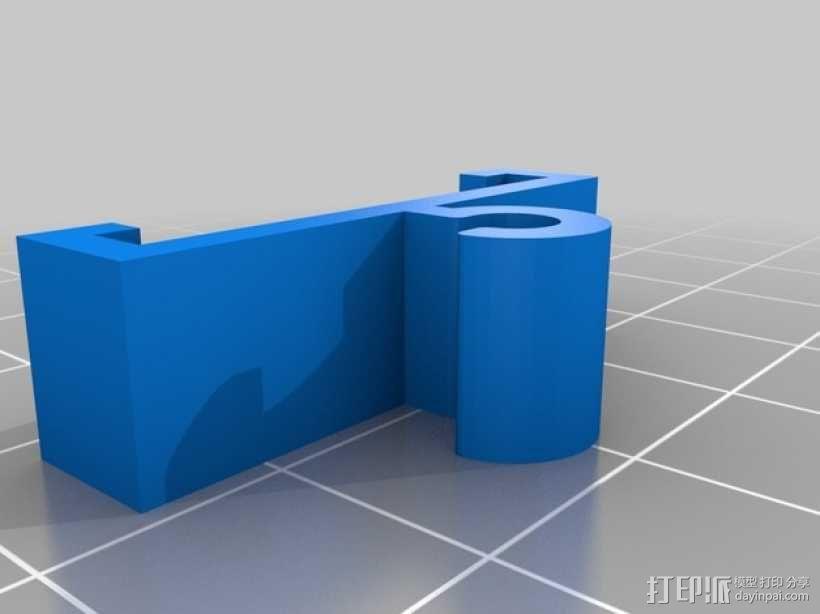 Zortrax线材管座 3D模型  图4