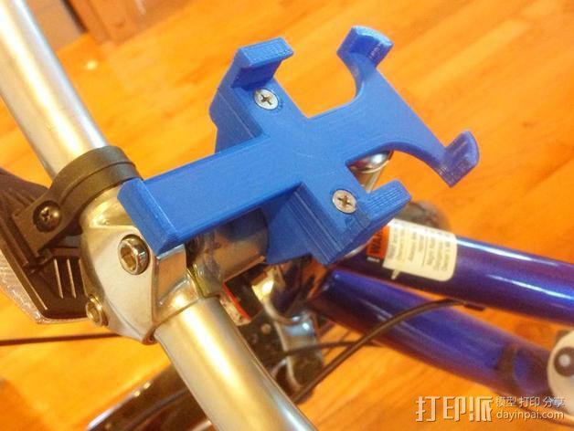 改进版iPhone 4s自行车挂载 3D模型  图6