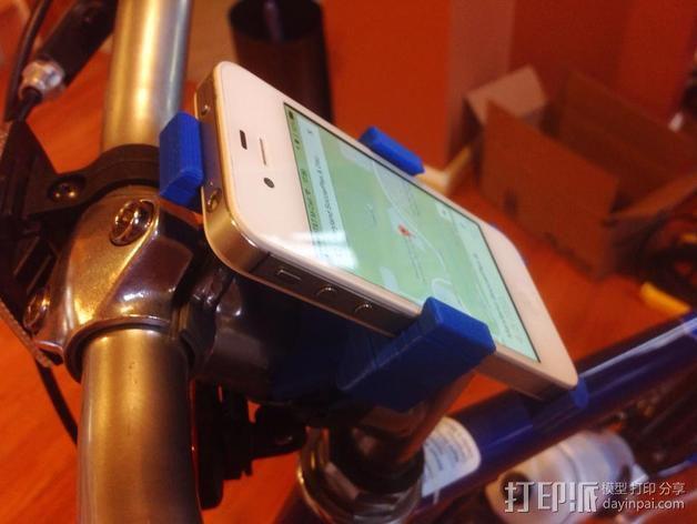改进版iPhone 4s自行车挂载 3D模型  图7