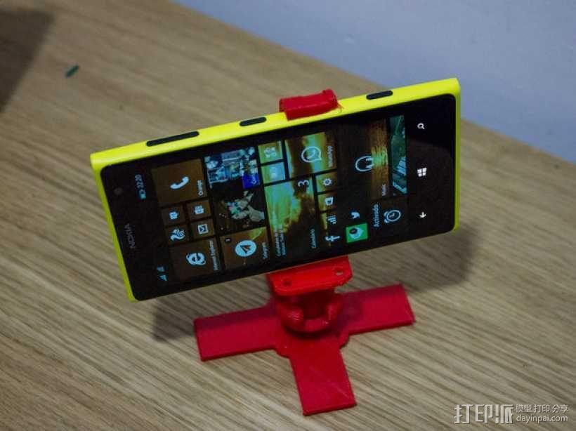 Lumia 1020调整式三脚架 3D模型  图3