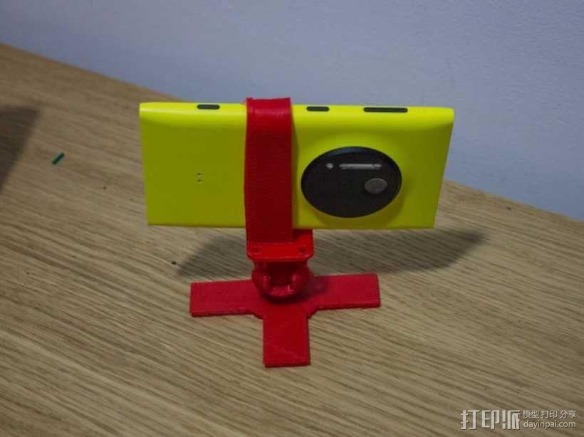 Lumia 1020调整式三脚架 3D模型  图4