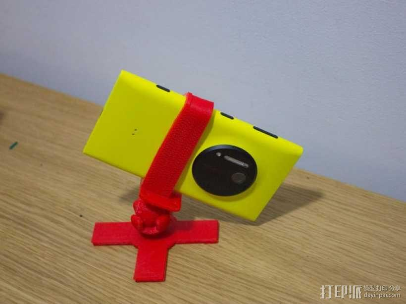 Lumia 1020调整式三脚架 3D模型  图6