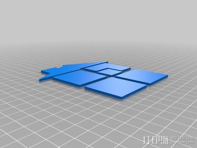 定制CD套 3D模型  图3