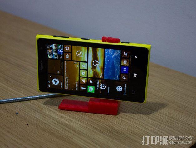 Lumia 1020站架  3D模型  图4