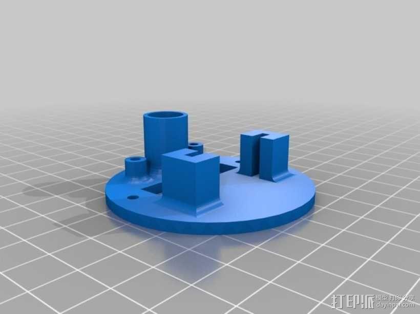 小绘图机器人(绘图仪) 3D模型  图2