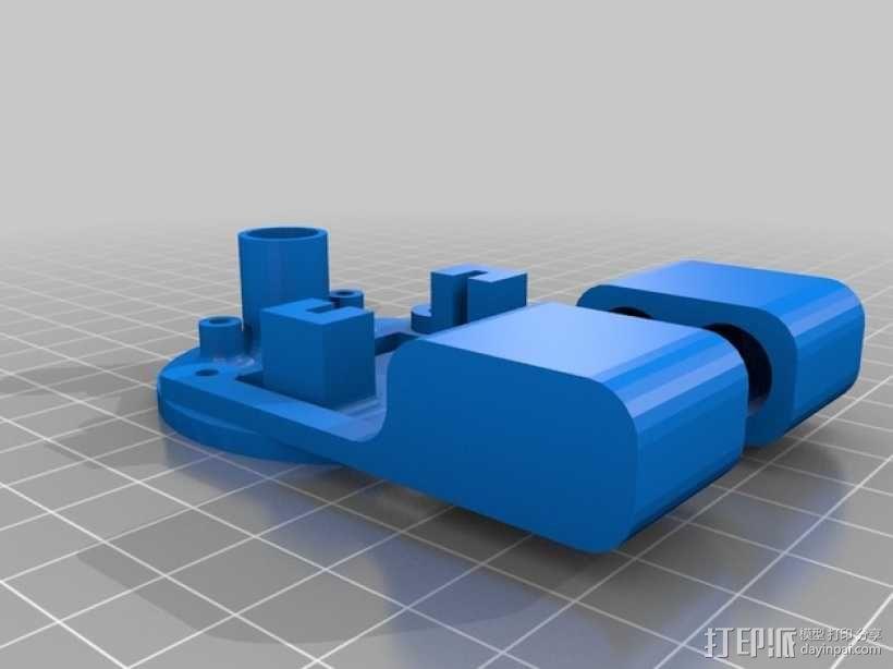 小绘图机器人(绘图仪) 3D模型  图3