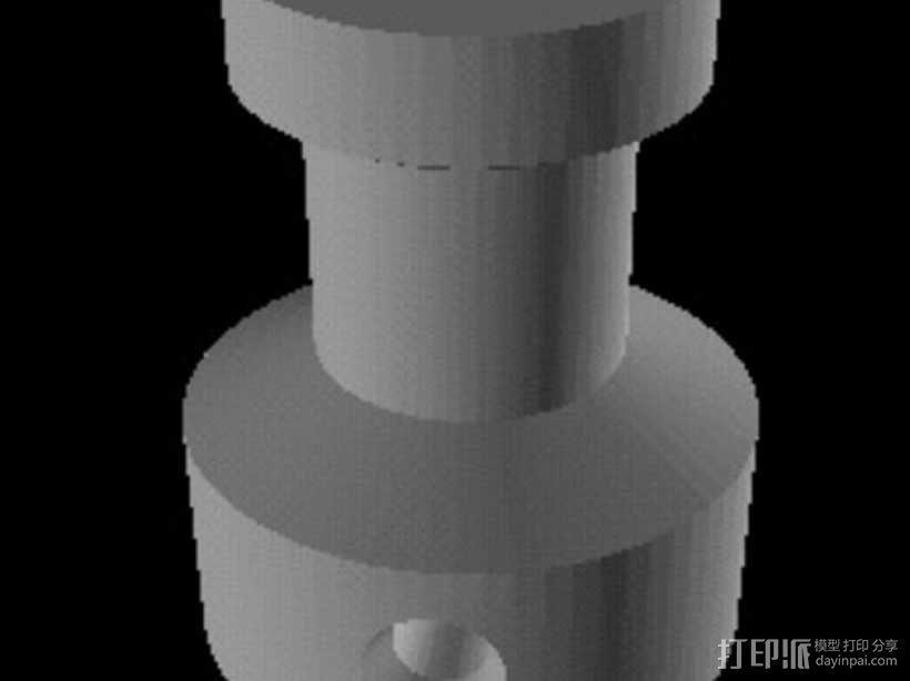 小绘图机器人(绘图仪) 3D模型  图6