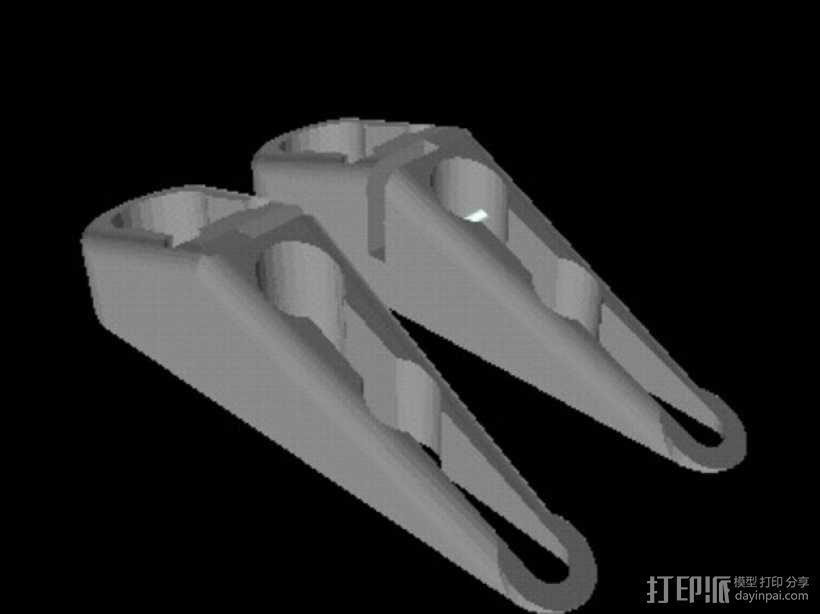 小绘图机器人(绘图仪) 3D模型  图4