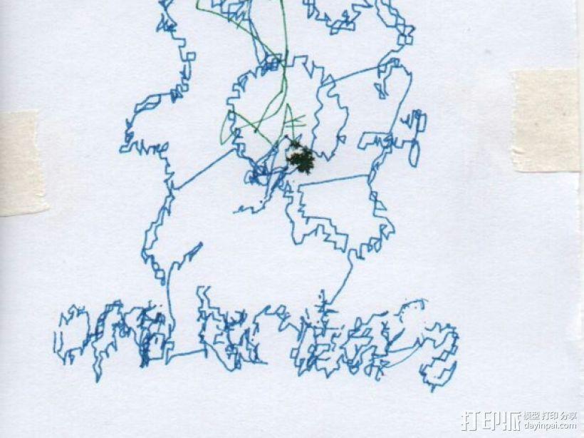 小绘图机器人(绘图仪) 3D模型  图9