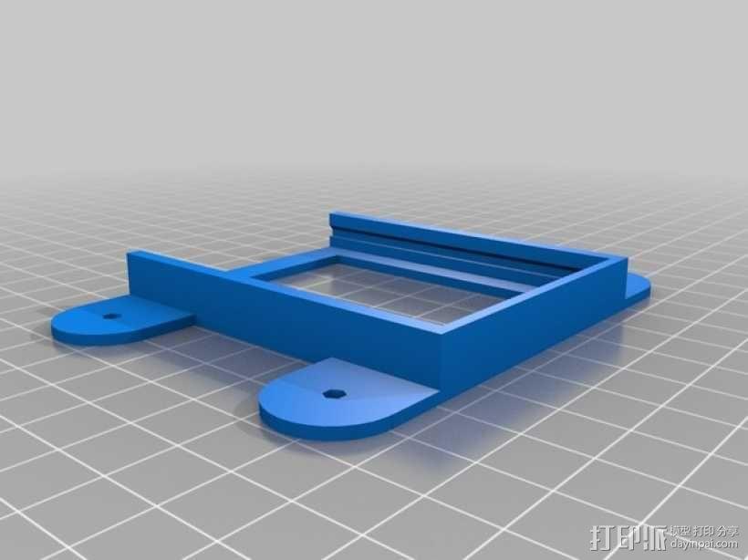 小绘图机器人(绘图仪) 3D模型  图10