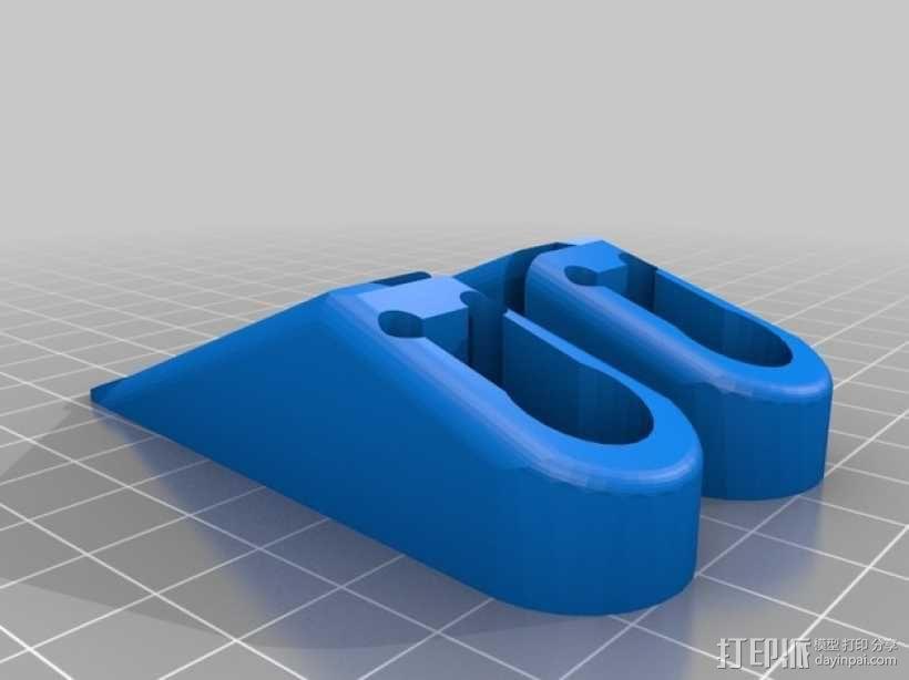 小绘图机器人(绘图仪) 3D模型  图13
