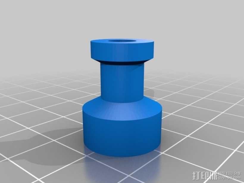 小绘图机器人(绘图仪) 3D模型  图12