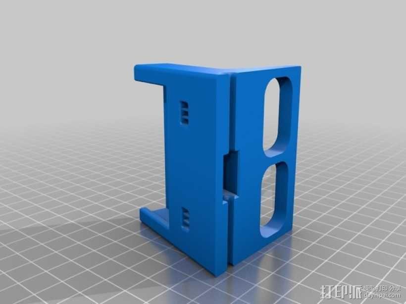 iPhone 4/4s充电座 3D模型  图2