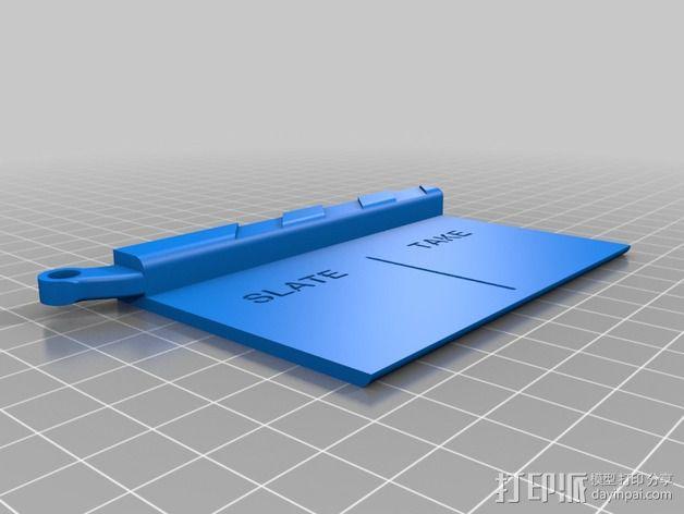 迷你电影板 3D模型  图3