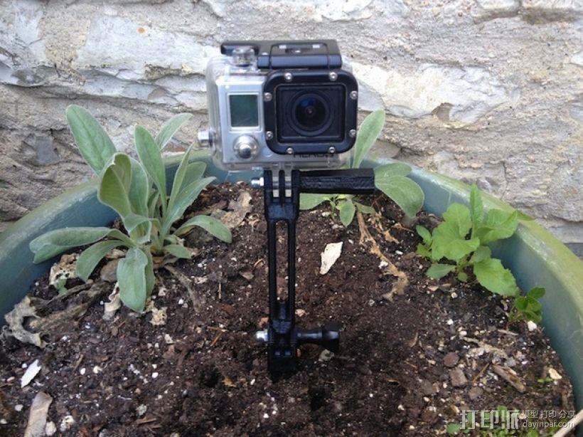 极限运动相机地钉 3D模型  图7