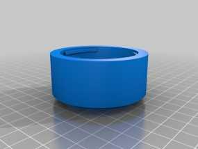 FUJICA-X接索尼E卡口转接环 3D模型