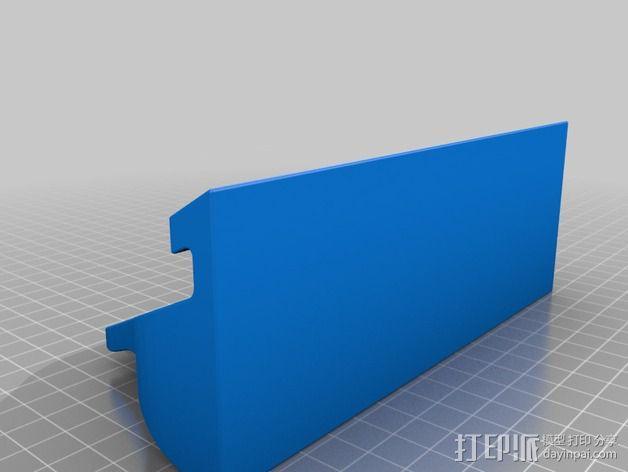 Nexus 7站架 3D模型  图2