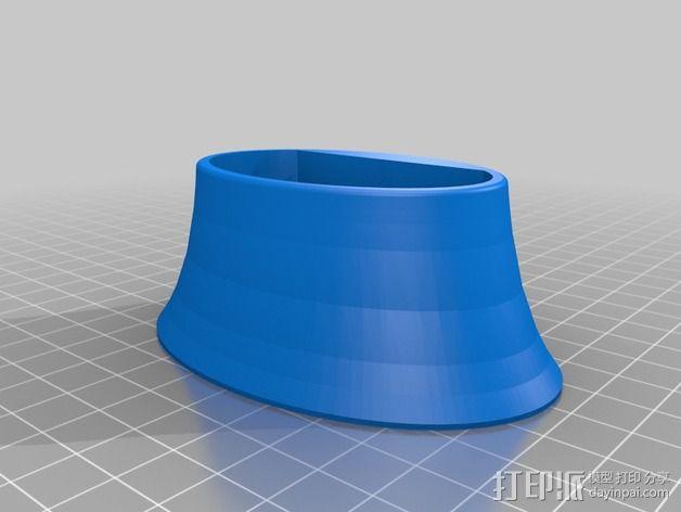 鼠标站架 3D模型  图3