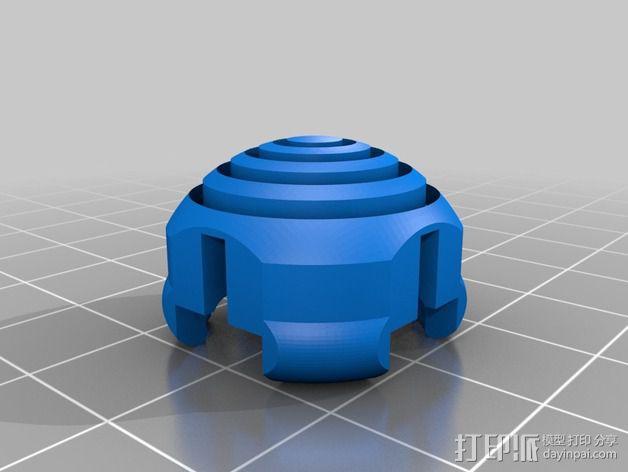 KillStix - XBOX 360 -Pro游戏遥控扩展器 3D模型  图2