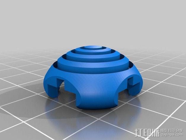 KillStix - XBOX 360 -Pro游戏遥控扩展器 3D模型  图3