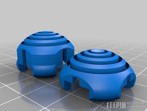 KillStix - XBOX 360 -Pro游戏遥控扩展器 3D模型  图4