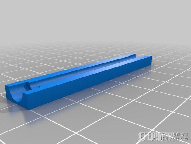 线夹 线缆收纳器 3D模型  图3