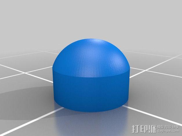 线夹 线缆收纳器 3D模型  图2
