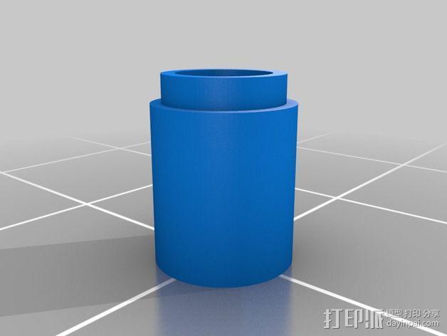 线夹 线缆收纳器 3D模型  图4