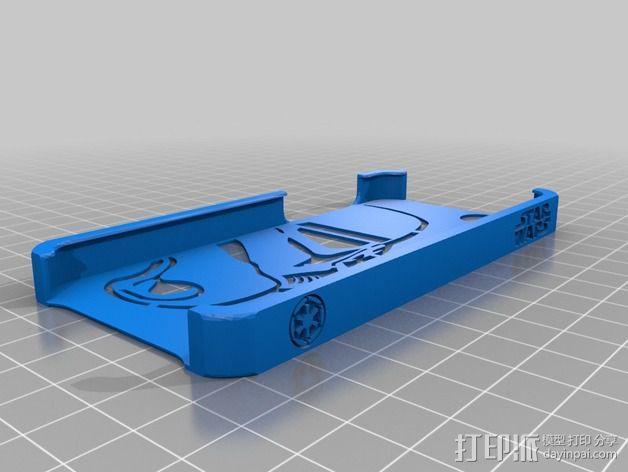 帝国风暴兵iPhone5 手机外壳 3D模型  图3
