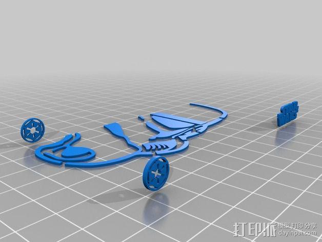 帝国风暴兵iPhone5 手机外壳 3D模型  图4