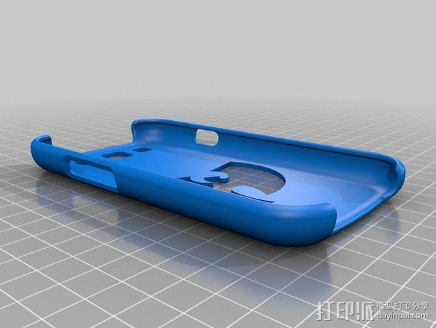 Wu-Tang三星Galaxy S3手机套 3D模型  图2