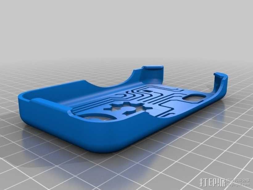 三星Galaxy Ace GT-S5830 甲板手机套 3D模型  图3