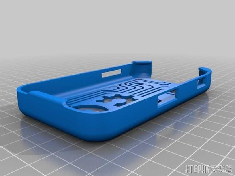 三星Galaxy Ace GT-S5830 甲板手机套 3D模型  图5