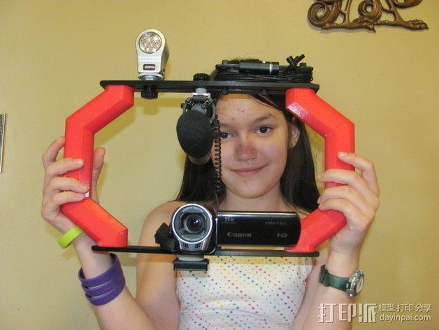 视频播客装备 3D模型  图3