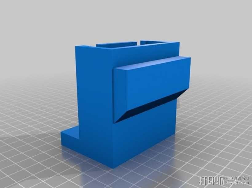 Xbox One Kinect调整式电视支架 3D模型  图5