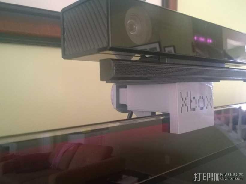 Xbox One Kinect调整式电视支架 3D模型  图7